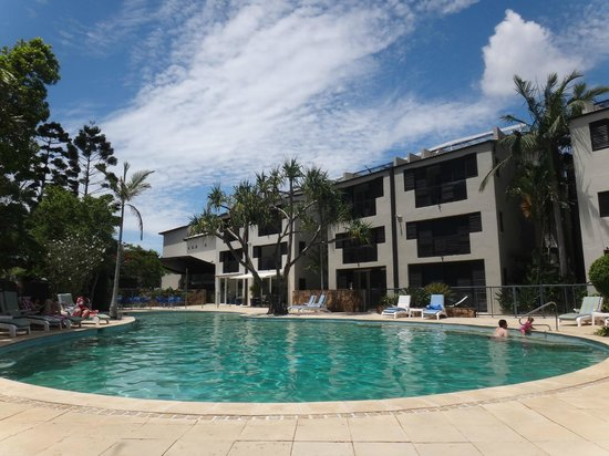Noosa Blue Resort : Hotel pool