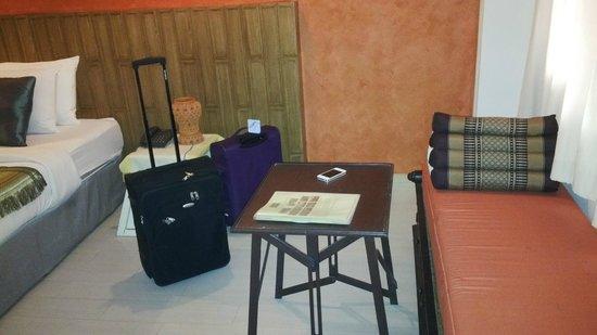 Nantra de Boutique: sitting area