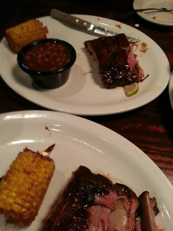 Sticky Fingers: Meal for two with ribs and 3 sides
