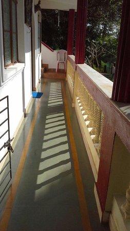 Divine Guest House: The studio private balcony