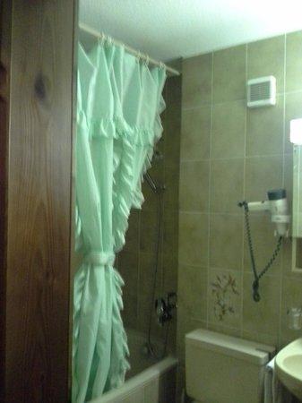 Hotel & Naturhaus Bellevue: Our bathroom