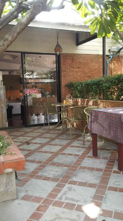 Nantra de Boutique: breakfast area