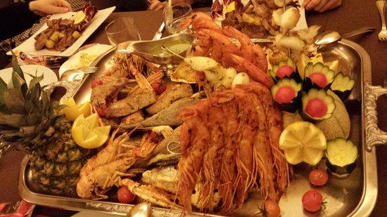 Restaurant Freina: Рыбная тарелка