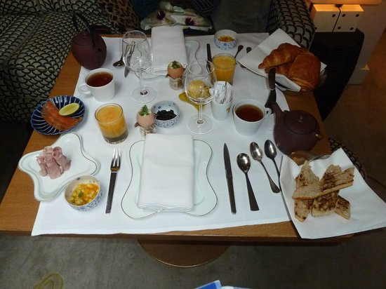 Hotel Thoumieux: The gourmet breakfast