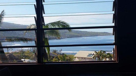 ILOHA Seaview Hotel : Vue du restaurant