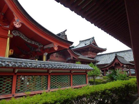 Isaniwa Shrine: 伊佐爾波神社