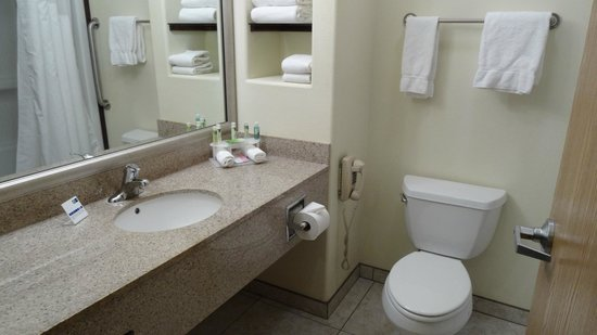 Holiday Inn Express Suites Alamosa: clean bathroom