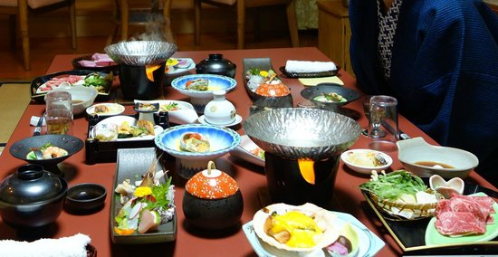 Kourakuen : In room Dinner