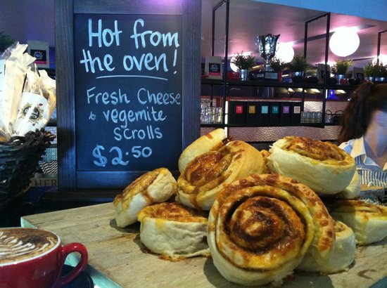 The Roasted Berry: Fresh baked goodies from the bakery!