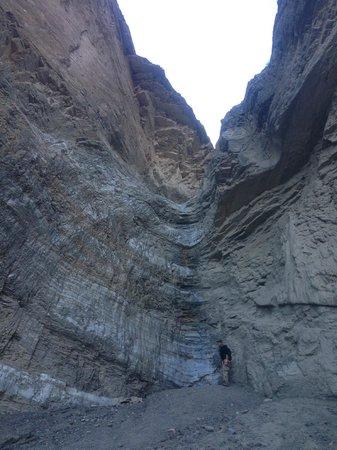 Mosaic Canyon: the end