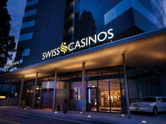 Swiss casinos slotted disc rotation