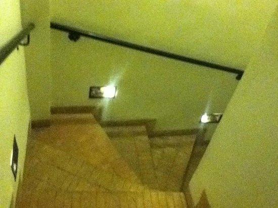 Riad Al Badia: ホテルの階段
