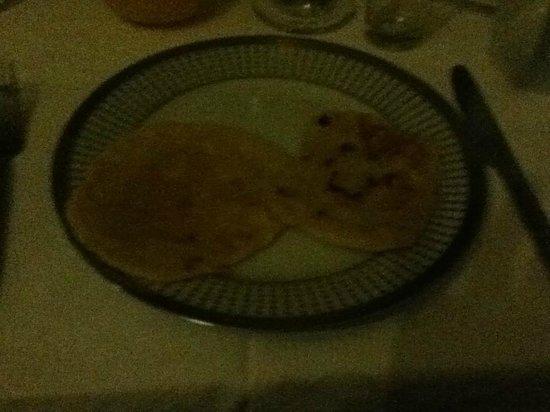 Riad Al Badia: 朝食のモロッコ風パンケーキ