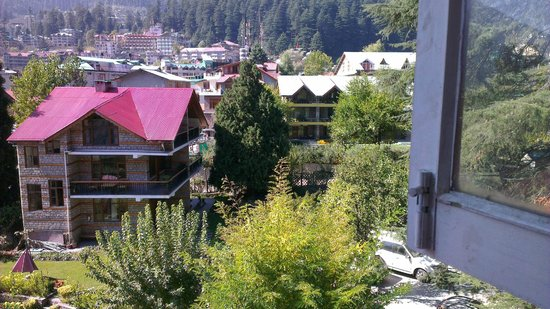Johnson Lodge & Spa: View from room