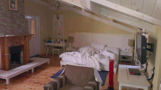 Johnson Lodge & Spa: Main bed