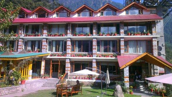 Johnson Lodge & Spa: Hotel front
