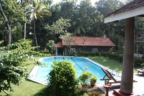 The Bungalow at Pantiya Estate: view from the balcony
