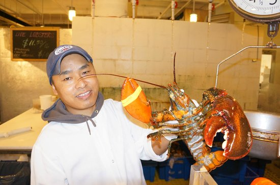 The Lobster Place: A Big Lobster