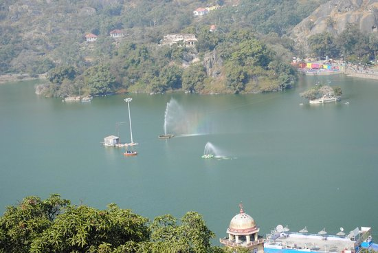 Travelogy India: View from Jaipur House in Mount Abu
