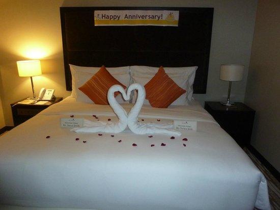 Acacia Hotel Manila: Nice Touch @ Acacia Hotel Philippines
