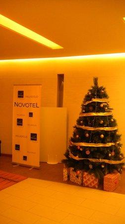 Novotel Valladolid: Фойе