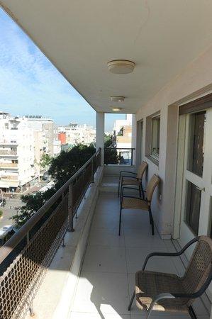 Yarden Sea Side Apartments: Yarden Sea Side - Balcony view