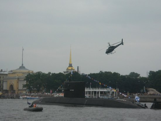 Park Inn by Radisson Pribaltiyskaya St Petersburg: navy games on neva