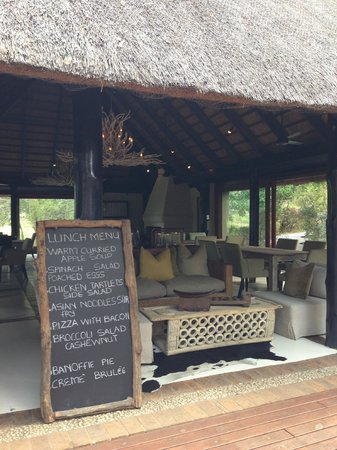 Lion Sands River Lodge : Lunch
