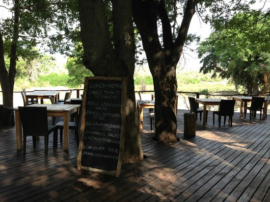 Lion Sands River Lodge: Lunch