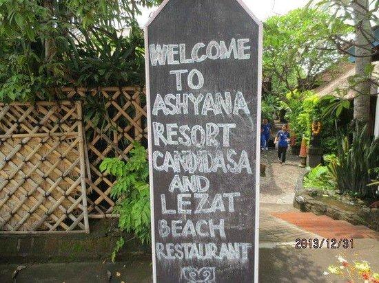 Ashyana Candidasa Beach Resort : エントランス