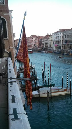 Aman Canal Grande Venice Resort : Balcony view