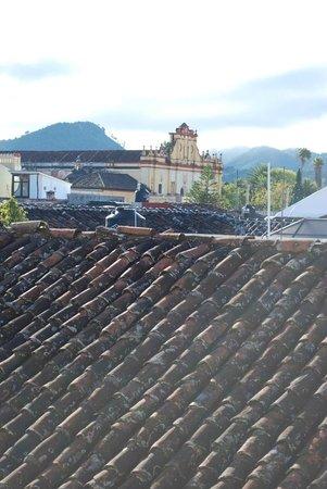 Casa del Alma Hotel Boutique & Spa: Blick vom Balkon