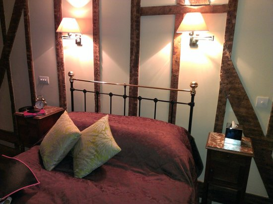 The Stagg Inn : Room above pub