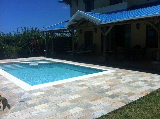 Orchid Villas Mauritius : swiming pool