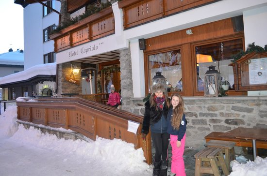Hotel Chalet Capriolo: January 2014