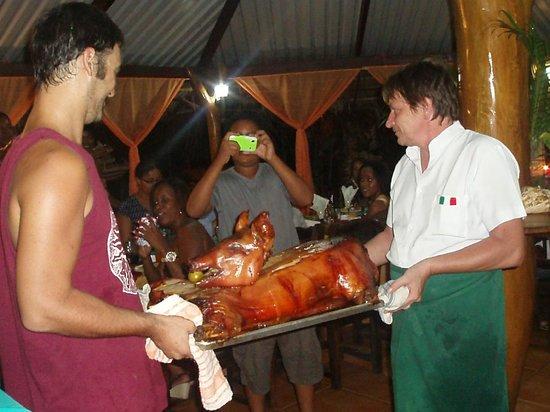 Hotel Caribbean Coconut: grande cena