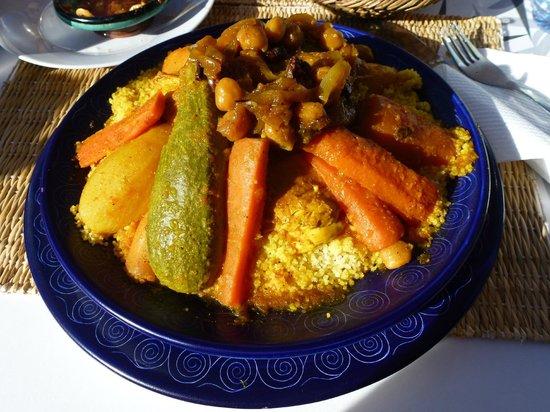 Hôtel Dar Sabra Marrakech : Plat dégusté en ville