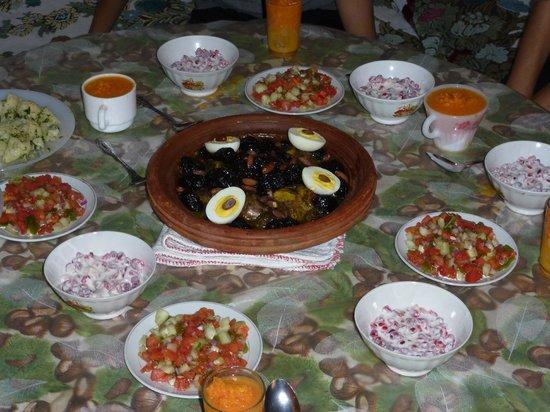 Hôtel Dar Sabra Marrakech : Cuisine familiale chez des Amis