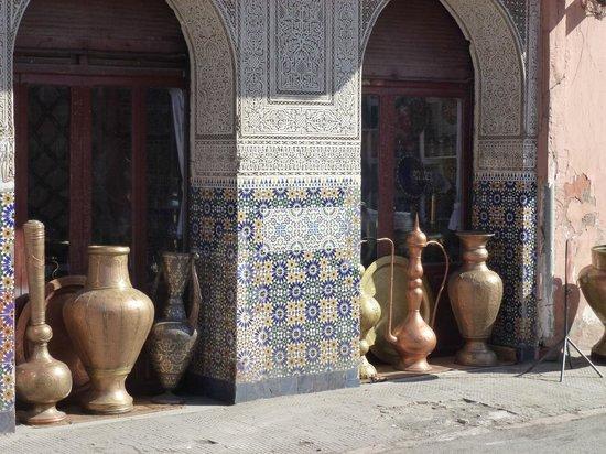 Hôtel Dar Sabra Marrakech : Artisanat Marocain