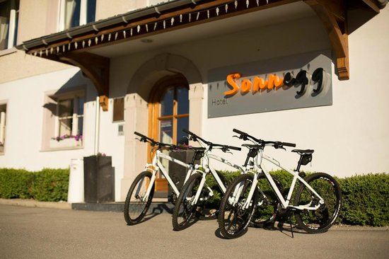 Sonnegg Hotel Garni: Aussenansicht Eingang