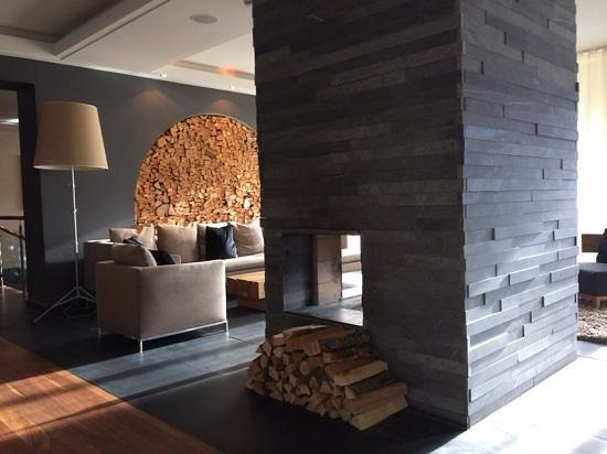 The Cambrian : Fire Place in the lobby