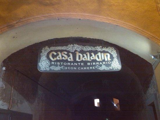 Casa Baladin : ingresso