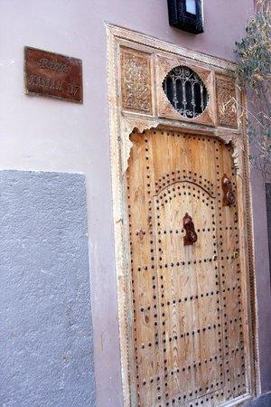 Riad Kasbah 117 Marrakech: The front door