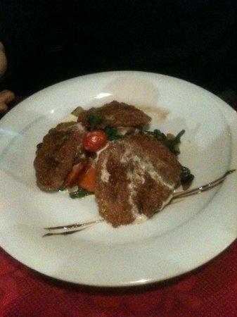 La nef des fous: Plat : filet de porc en croute (avec gratin dauphinois et légumes de saisons)