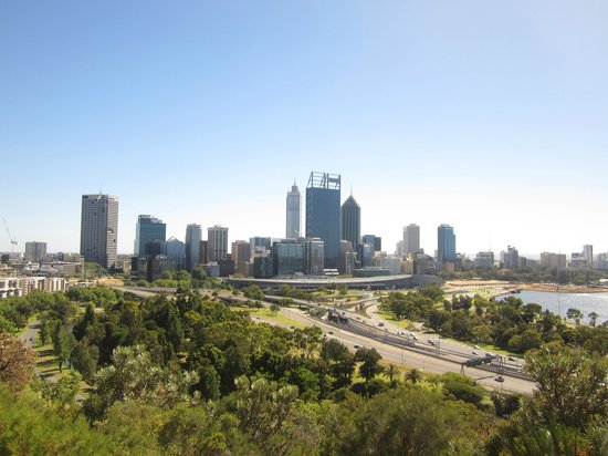 Fraser Avenue Lookout: The view