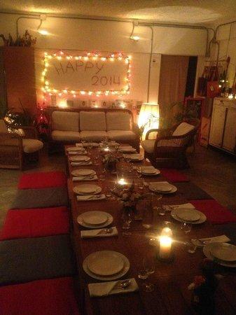 Nang Gin Kui - Bangkok Private Dining: Lovely setup
