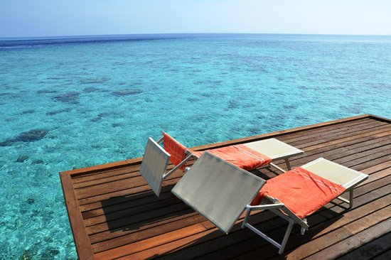 VOI Alimatha Resort: Pontile camera