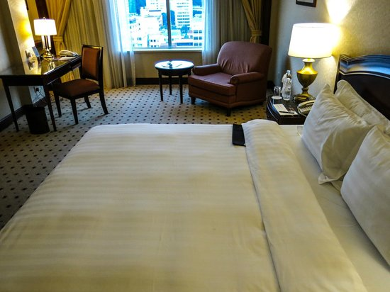 Le Meridien Kota Kinabalu : Liked the size of our room