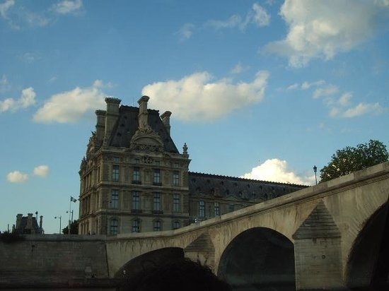 La Seine : セーヌ川からの風景