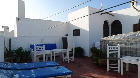 Riad Remmy : roof terrace